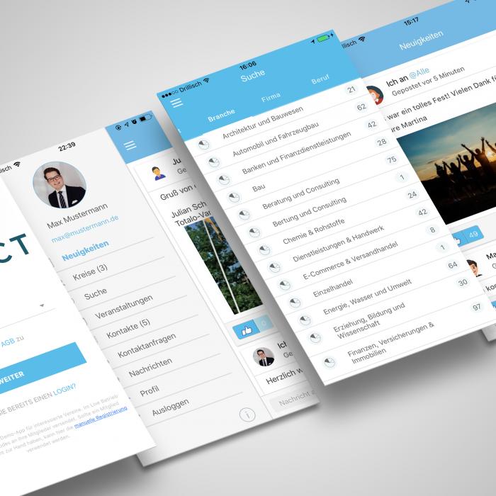 Connact App Show Case