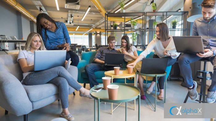 Startups bei der Arbeit